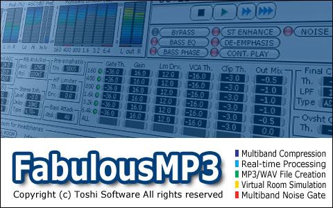 MP3 Multiband Compressor | FabulousMP3 Product Information