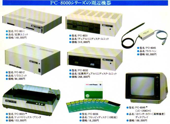 PC-8001(GARAさんのページ)
