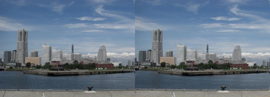 Yokohama-Minatomirai fotita de la Granda Kajo
