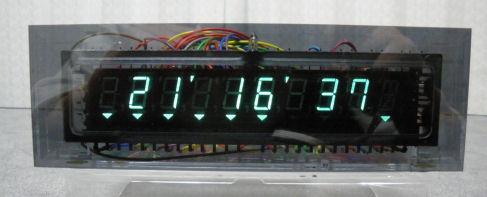 蛍光表示管時計の作成